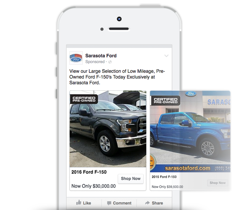 Facebook ads for dealerships